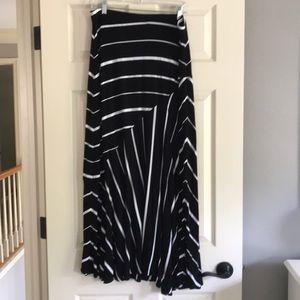 Women's knit long skirt